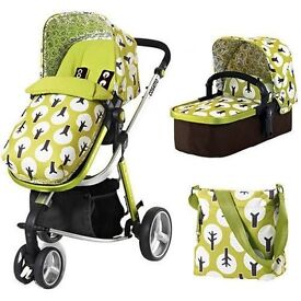 complete cosatto travel system