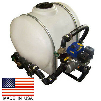 Driveway Sealcoating Sprayer - 125 Gallon - 5.5 HP Pump - 50 Ft Hose - 6.5 HP