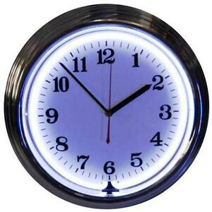 Lighted Wall Clock Ebay