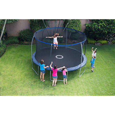 Round Trampoline 14 Ft  Jump Bounce w/ Safety Net Enclosure NEW