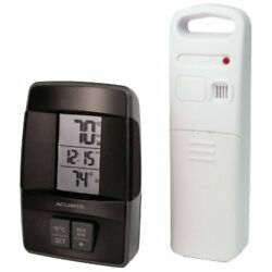 AcuRite 00606 Wireless Indoor/Outdoor Thermometer with Clock
