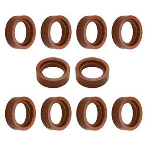 Longevity S-45 Plasma Cutter Swirl Rings (10-Piece Set)