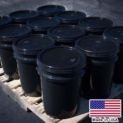 12 BUCKETS Asphalt Emulsion Sealer - 5 Gallon Each - 4,800 to 6,000 sqft - BULK