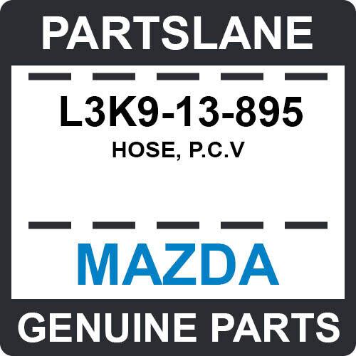 L3k9-13-895 Mazda Oem Genuine Hose, P.c.v