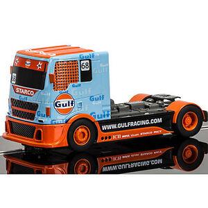 SCALEXTRIC Slot Car C3772 Team Truck Gulf No.68