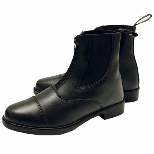 Horseware Zip Paddock Boots - Black - Youth/Ladies Size 36 (5/6)
