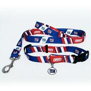 NY Giants Dog Collar
