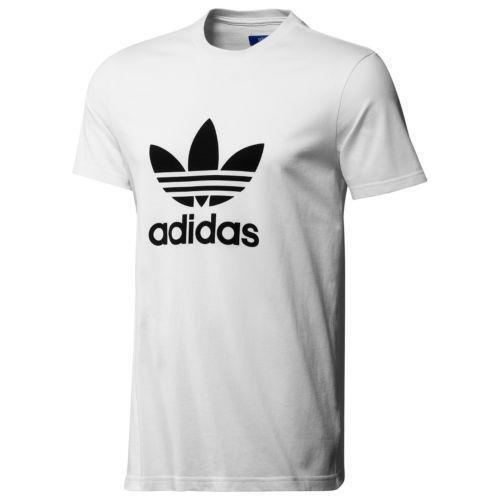 Adidas trefoil t shirt ebay for Adidas lotus t shirt