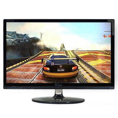 "شاشة ليد جديد X-star DP2414LED Full HD Gaming Monitor 24"" 144Hz Multi Port(DVI,HDMI,RGB)"