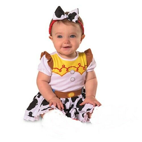JESSIE~Infant~COW GIRL~COSTUME DRESS + HEADBAND~Toy Story~NW