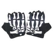 Skull Motorcycle Gloves