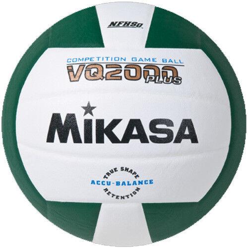 Mikasa VQ2000 Volleyball - Green/White