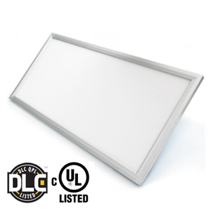 LED PANEL LIGHT 50W, (1X4)UL&DLC, 4000K DIMMABLE SILVER