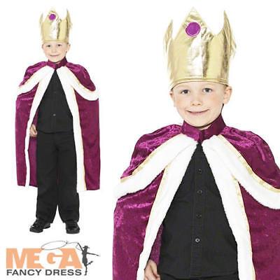 3 Kings Nativity Christmas Boys Fancy Dress Child Wise Men Costume Kids - 3 Kings Costumes