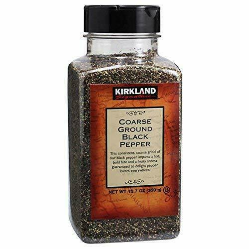 Kirkland Signature Coarse Ground Black Pepper 12.7 oz