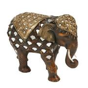 Wooden Elephant Ornaments