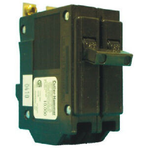 Double pole QBH breakers for Sylvania, Commander, CEB panels