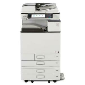 REPOSSESSED Ricoh 11x17 Colour Office Copier Laser Printer MP C2003 2003 Lease Buy Rent Copiers Printers Copy Machine