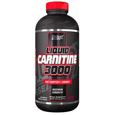 Nutrex Research Lipo 6 Liquid Carnitine 473ml gusto Cherry