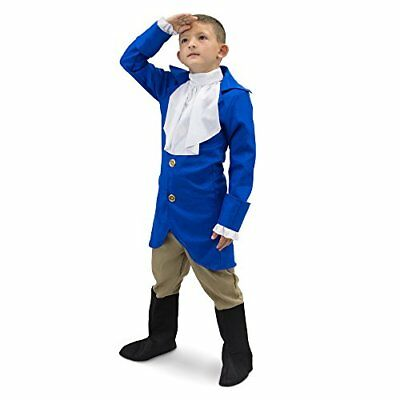 George Washington Children's Boy Halloween Dress Up Party Roleplay Costume