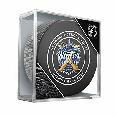 2018 Winter Classic New York Rangers Buffalo Sabres Official Nhl Game Puck Cubed