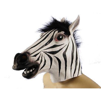 Zebra Mask (Zebra Halloween Mask Halloween Costume)
