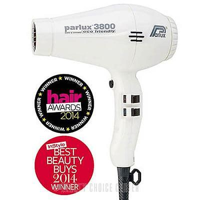 Parlux 3800 Ceramic Ionic Hair Dryer - White