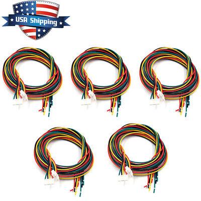 10pcs 3d Printer Stepper Motor Cables Lead Wires Length 80cm