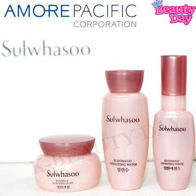 Sulwhasoo Bloomstay Vitalizing 3-items Basic Set Korean Cosmetics Made in korea