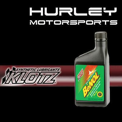 Klotz BC-175 BeNOL 2-Cycle/Stroke Racing Castor Oil - 16 oz - Qty (10)