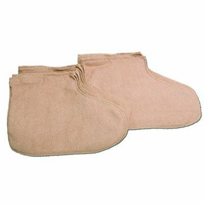 WaxWel Paraffin Bath - Accessory Package - 6 Terry Foot Booties ONLY