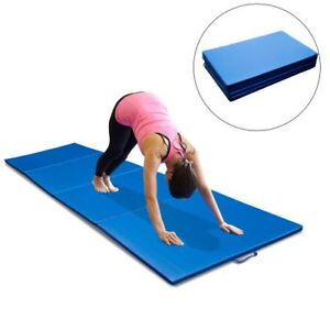 10ft blue gym mat / gymnastics mat yoga mat / exercise gym mat