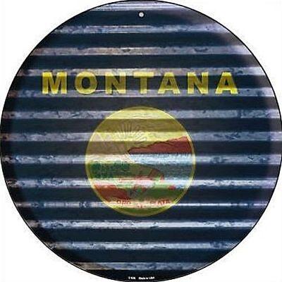 (MT Montana State Flag 12