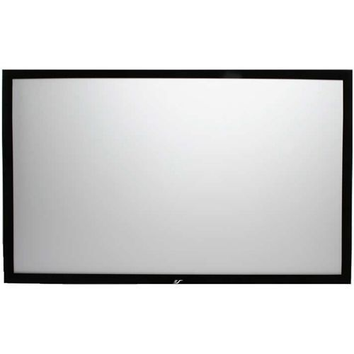 Elite Screens ER92WH1 Sable Fixed-Frame Projection Screen