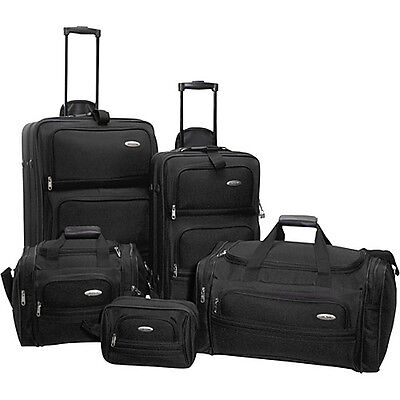 Samsonite 5-Piece Travel Set - Black on Rummage