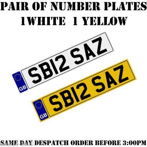 cheap car number plates ebay. Black Bedroom Furniture Sets. Home Design Ideas