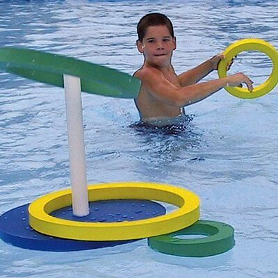 Nordesco Resonate Game Quoits Pool Party Adult Kids Heavy Duty Floating EVA Spume NEW