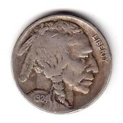 1924 s Buffalo Nickel