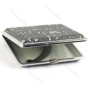 New Pocket Cigarette(16Pcs) Tobacco Case Box Figure Holder