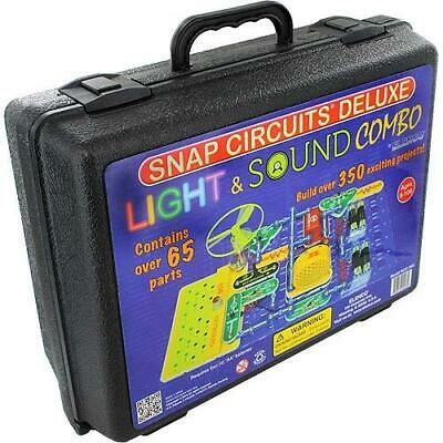 Snap Circuit Light (Science Electronics Snap Circuits Deluxe Sound and Light Combo Elenco in)