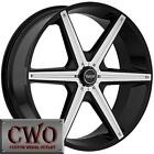 "22"" Black Rims 6 Lug"