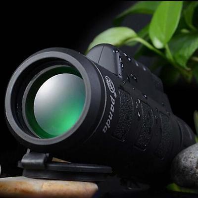 40x60 HD Optical Monocular Hunting Camping Hiking Telescope w Night Vision
