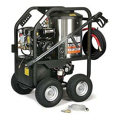 Portable Hot Water Pressure Washer Gas - 2400 Psi - 2.7 Gpm - 12v Dc Burner