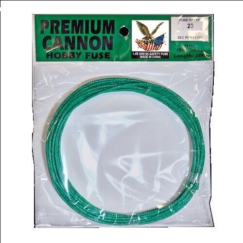 PREMIUM green hobby cannon wick 20 foot roll
