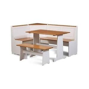 White Kitchen Table Sets