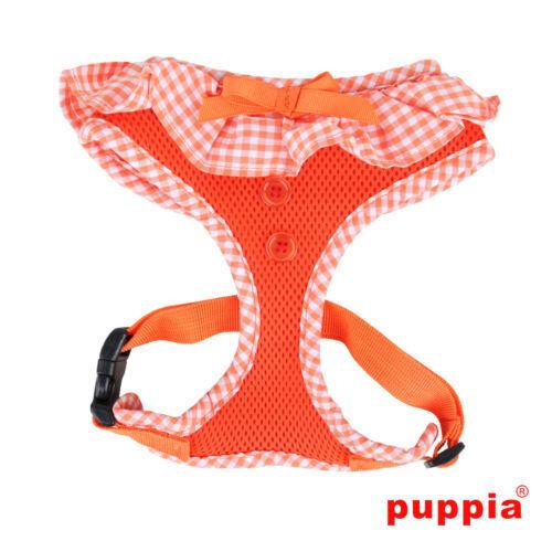 Puppia - Dog Puppy Mesh Harness - Vivien - Orange - XS, S, M