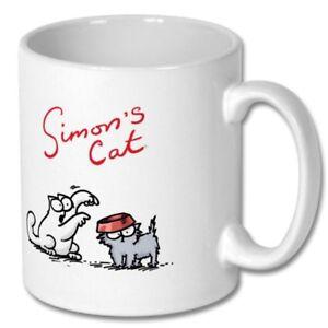 Simons Cat Mug Design Rounded Hungry Simon Cup Funny Coffee