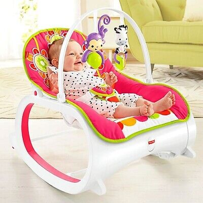 Baby Infant Rocker Recline Seat Toddler Bassinet Vibrating Chair Bouncer Rocking