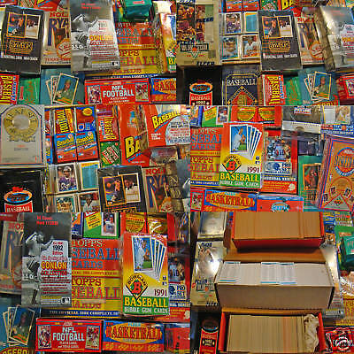 Sport Card Liquidation - Over 300 - in Unopened/Unsearched Sealed Packs