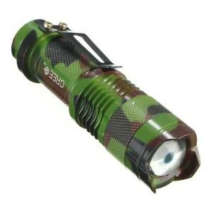 flashlight cree 5000 lumens zoom low strobe sos high beam